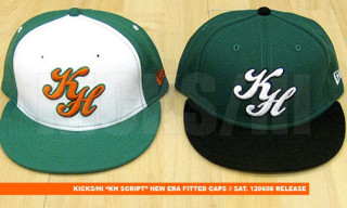 "Kicks/Hi ""Script"" New Era Caps"