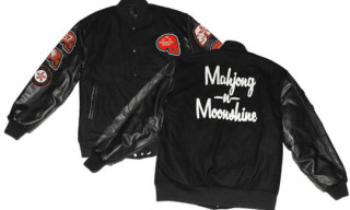 "Know1edge x Fiberops ""Mahjong & Moonshine"" Stadium Jacket"