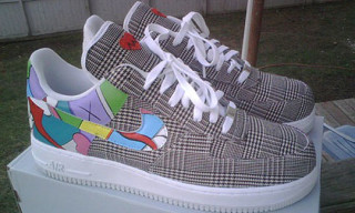 "Nike Air Force 1 ""Kanye West 808s & Heartbreak"" Custom"