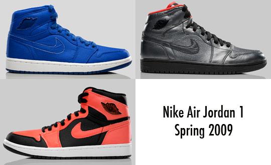 Nike Air Jordan Retro 1 High | Spring 2009 Preview | Highsnobiety