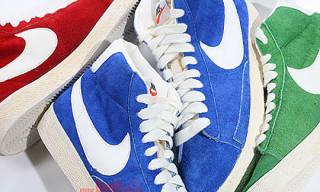 Nike Spring 2009 Blazer Hi Suede Vintage Pack