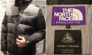 "The North Face Purple Label ""Loden Steiner"" Puffa Jacket"
