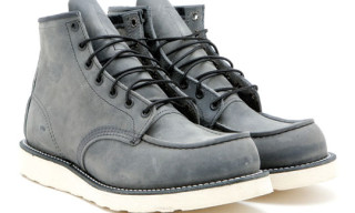 "David Z. x Red Wing ""Ashy Grey"" Classic"