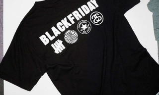 "Stones Throw x Union x Undefeated x Stussy x Converse ""Black Friday"" T-Shirt"