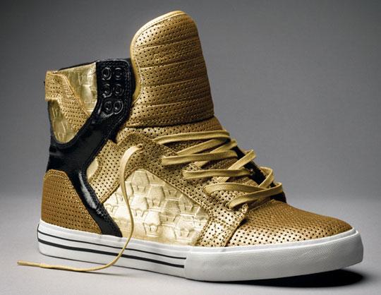 Supra Skytop Gold