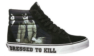 "KISS x Vans Spring 2009 Sk8 Hi ""Dressed To Kill"""