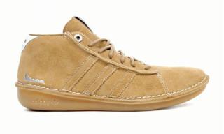 adidas x Vespa | Beige Mid Top Sneaker