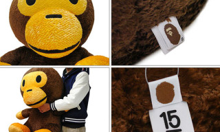 A Bathing Ape 15th Anniversary Giant Milo Plush Toy