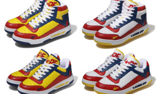 "Bape Bapesta88 ""Red/Blue/Yellow"""