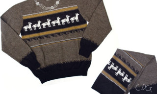 Comme Des Garcons x Inoue Brothers Knitwear Collection