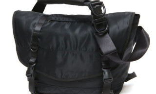 hobo Nylon Satin Messenger Bag