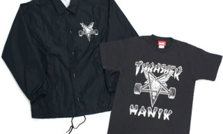 Manik x Thrasher | Coach Jacket & T-Shirts