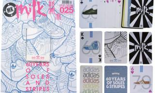 "Milk China x adidas ""60th Anniversary"" Playing Cards"