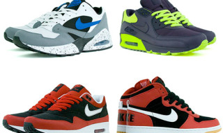 Nike January 2009 Releases | Air Max 1, Big Nike, Air Tailwind '92, Blazer, Air Max 90