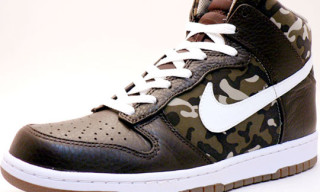 Nike Dunk Hi Premium Brown/Camo