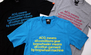 Nike Sportswear ACG x Loopwheeler Spring 2009 Collection