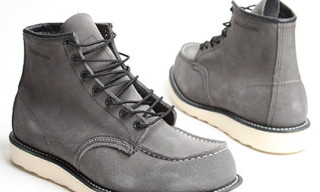 Red Wing x Nom De Guerre Moc Toe Work Boot Release