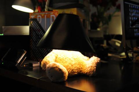 Silly Thing Teddy Bear Lamp