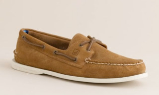 Sperry Topsiders x J.Crew Boat Shoes