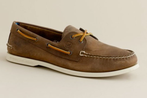 Sperry Topsiders x J.Crew Boat Shoes   Highsnobiety