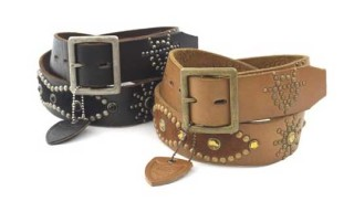 Victim x HTC Leather Studs Belt