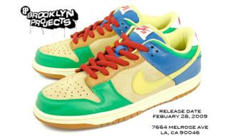 Brooklyn Projects x Nike Dunk Low SB Release