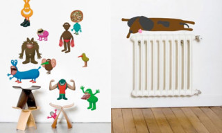 Colette Presents Domestic Wall Drawings