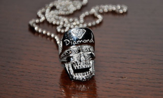 "Diamond Supply Co. x Han Cholo ""Sk8 Till Death"" Necklace"