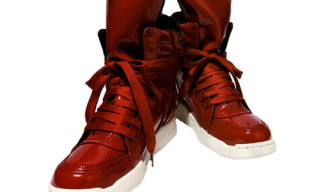 Diet Butcher Slim Skin High Top Sneakers | Red Patent
