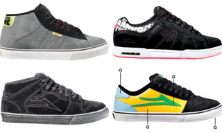 Lakai Spring 2009 Limited Edition Footwear | 10 Year Anniversary, Crailtap Series, Recycled Program