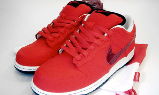 "Nike Dunk Lo SB ""Bloody Lazy"" by Lazything"