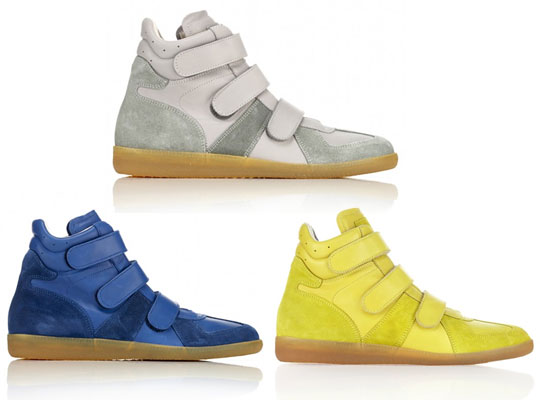 0217ba311bdebb Martin Margiela Suede Panel High Top Sneakers Highsnobiety best ...
