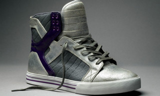 "Supra Skytop ""Silver/Purple Crackle"" Limited Edition"