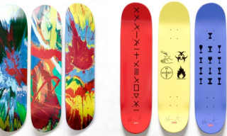 Interview Talks To James Jebbia | Supreme x Damien Hirst Deck Preview