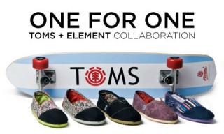 Toms x Element
