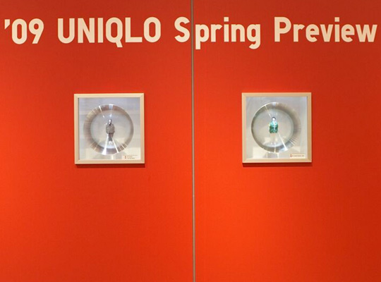Uniqlo Spring 2009 Glass Box Preview