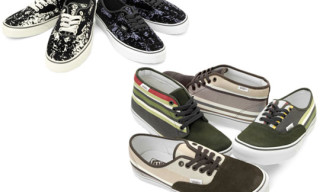 "Vans Spring 2009 | ""Stripes"" & ""Flocking"" Pack"