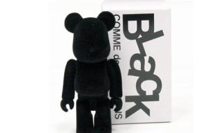 """Comme Des Garcons BLACK 100% """"Felt"""" Bearbrick"""