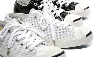 Converse Jack Purcell Perforated Patent Leather Pack