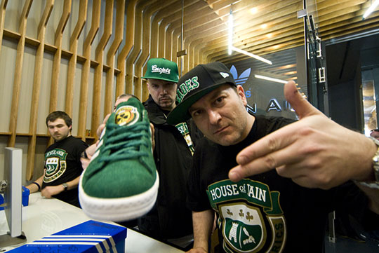 Adidas X House Of Pain X Concepts Launch Highsnobiety