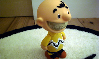 "Made By Monsters x Chapel Of Dawn x Ron English ""Grin"" Evil Charlie Brown"