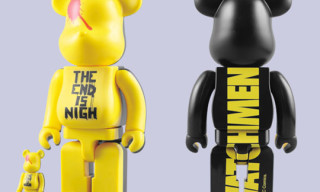 Medicom Toy x DC Comics Watchmen 100% & 400% Bearbricks