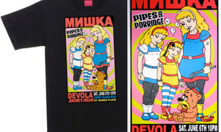 "Mishka x Kozik ""Pipes And Porridge"" T-Shirt & Print"