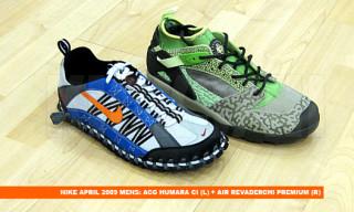 Nike Spring 2009 ACG Humara, Air Revaderchi Premium, Dunk Hi Woven 3M