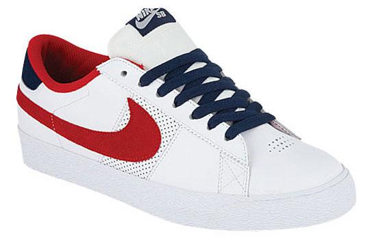 Nike Blazer Haut Bas Patineur Rouge