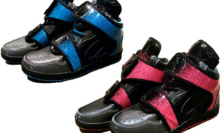 Rocstar x ato Cow Hide Boots | Pink & Blue Colorway