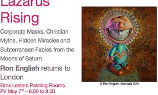 Ron English Returns To London | Lazarus Rising
