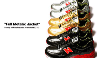 "Stussy x UNDFTD x realMad Hectic New Balance MT580 ""Full Metallic Jacket"" Collection"