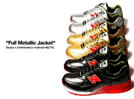 70%OFF Stussy x UNDFTD x realMad Hectic New Balance MT580 Full Metallic  Jacket Collection b1aabbe45d