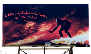 Undefeated Billboard Project: Kenneth Anger